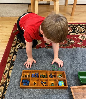 counting tray