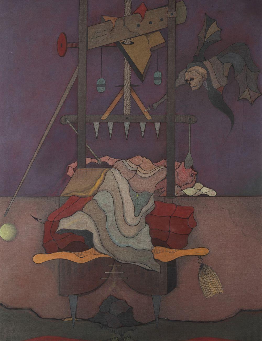 Jorge Camacho - Homage to Raymond Roussel, 1970