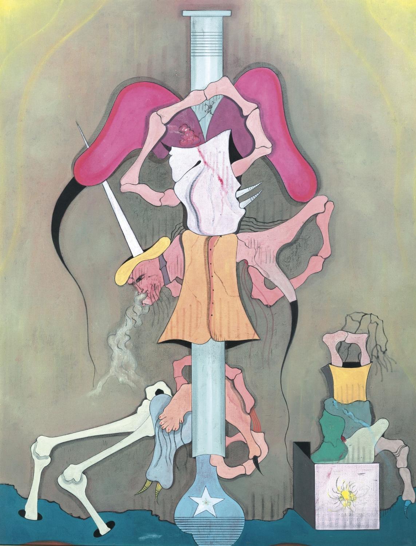 Jorge Camacho - Crossroads, 1971