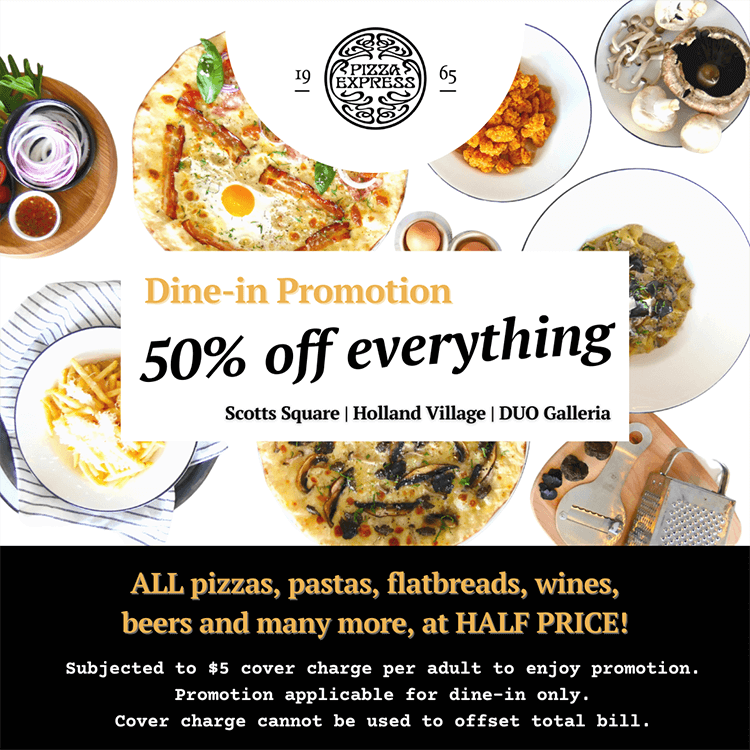 PizzaExpress Dine-in Promotion