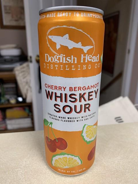 Cherry Bergamot Whiskey Sour - Dogfish Head Distilling Company