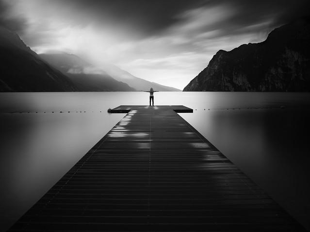 Lake Garda Pier Sunrise