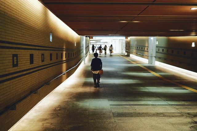 to the underground mall