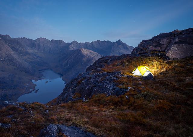 Sgurr na stri summit wild Camping. (Explored)