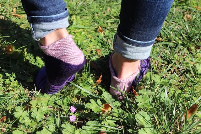 Scrap ankle socks