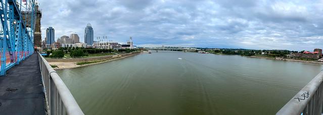 Cincinnati River Panorama