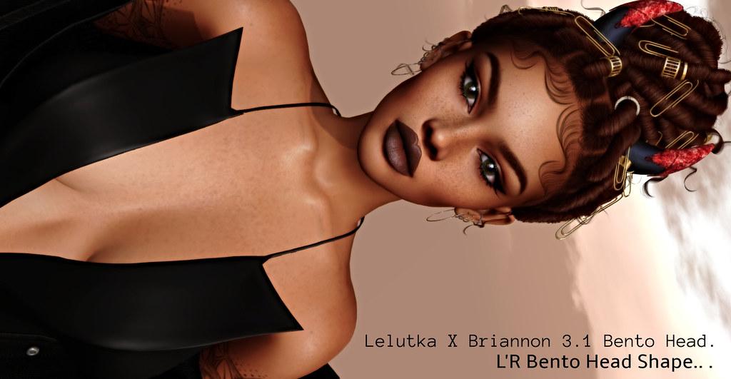 new Lelutka X Briannon 3.1 Bento Head Shape –