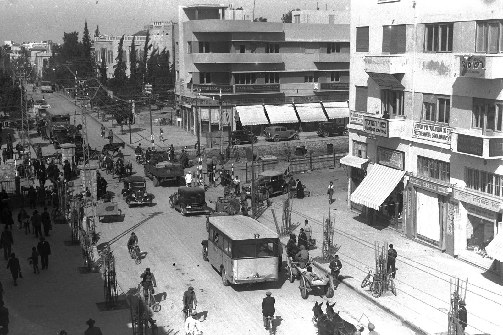 06. 1935. Улица Алленби