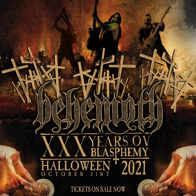 Behemoth Announce 'XXX Years Ov Blasphemy' Live Stream