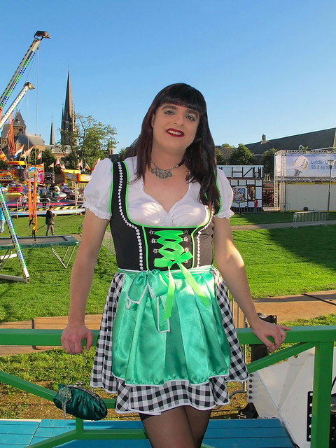 Oktoberfest funfair