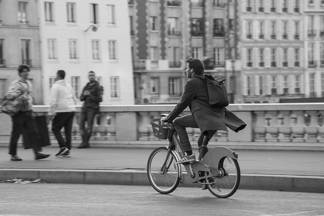 Le pro du Vélib' *-*