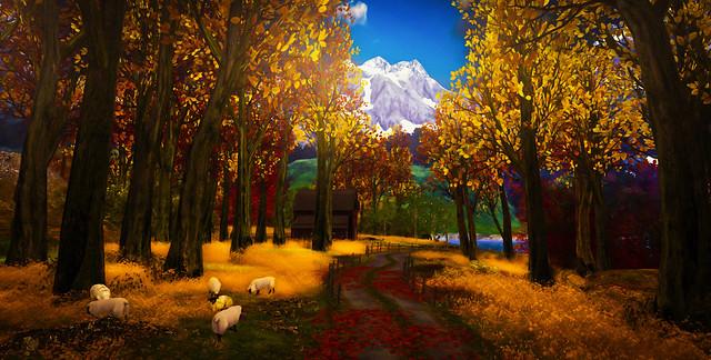 Winding path of nature