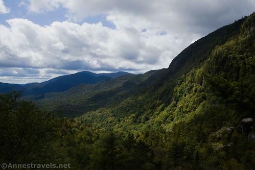 Views toward Santanoni Peak from Summit Rock in Indian Pass, High Peaks Wilderness, New york
