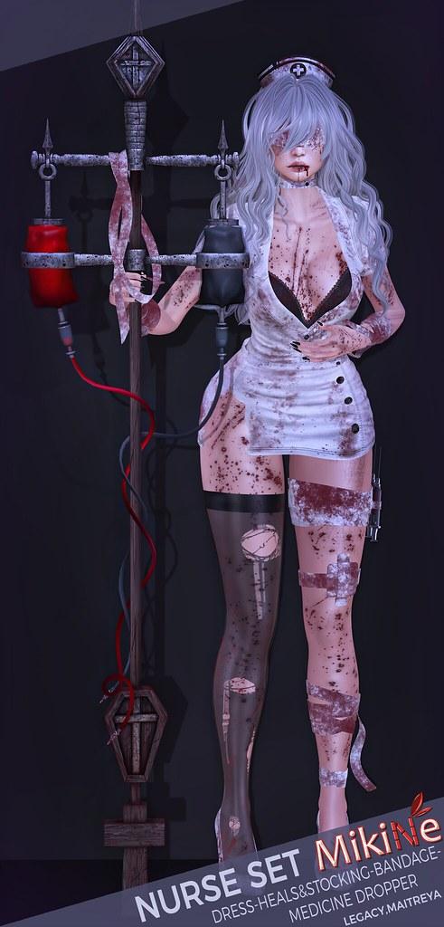 -MikiNe- Nurse set special for Salem