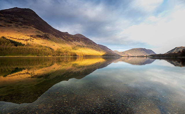 Buttermere morning reflection 2