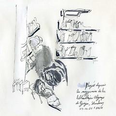 Dans la médiathèque / In the library
