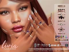 LIVIA // Fleur Bento Rings