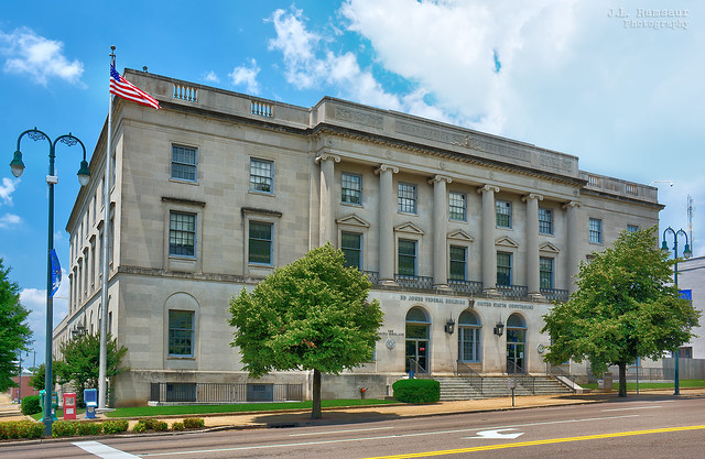 Ed Jones Federal Building and U.S. Courthouse - Jackson, Tennessee