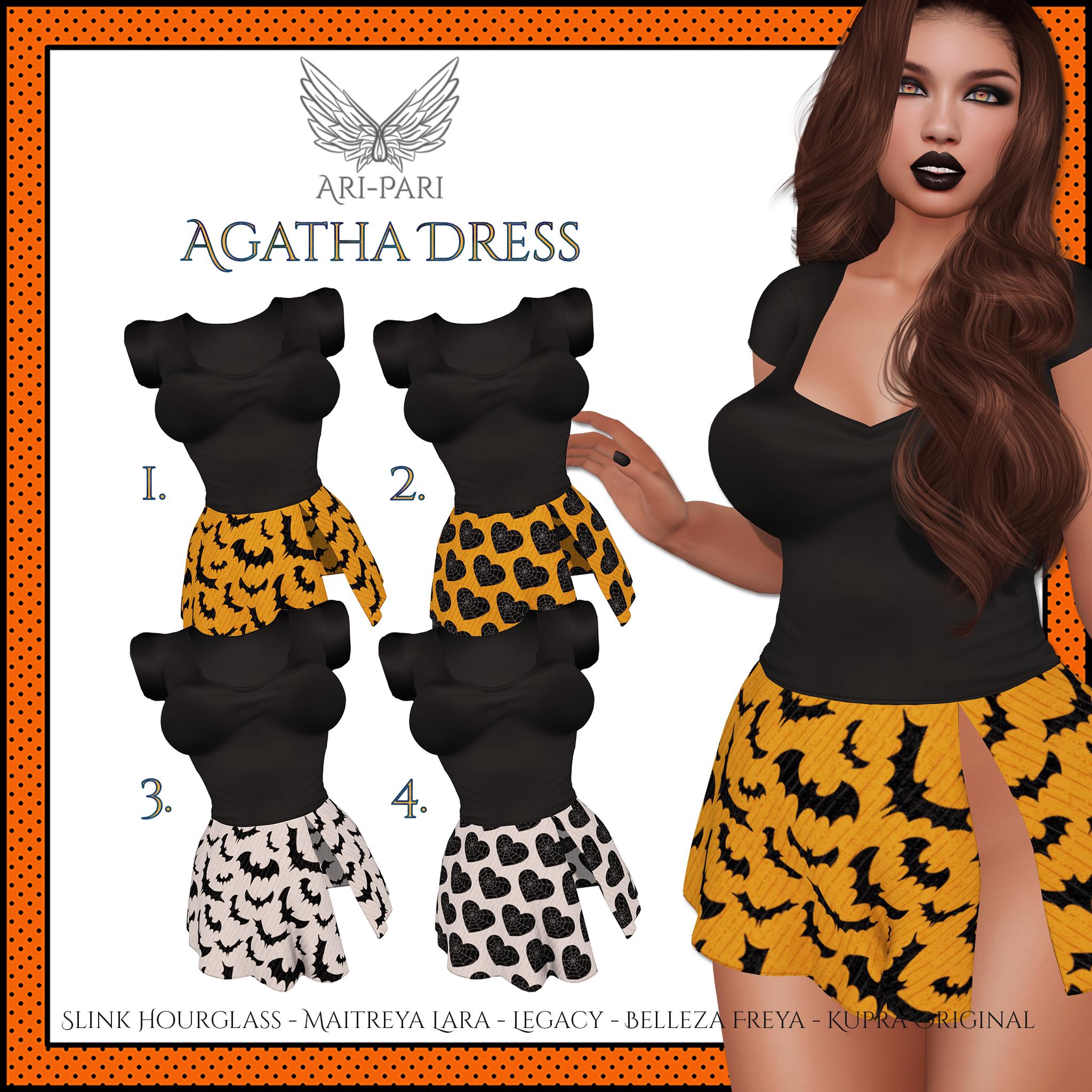 [Ari-Pari] Agatha Dress - Haunted Hunt Key