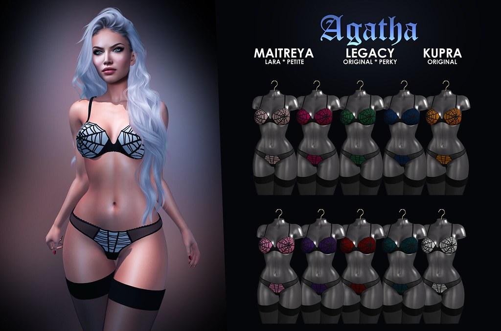MAAI Agatha lingerie + GIVEAWAY