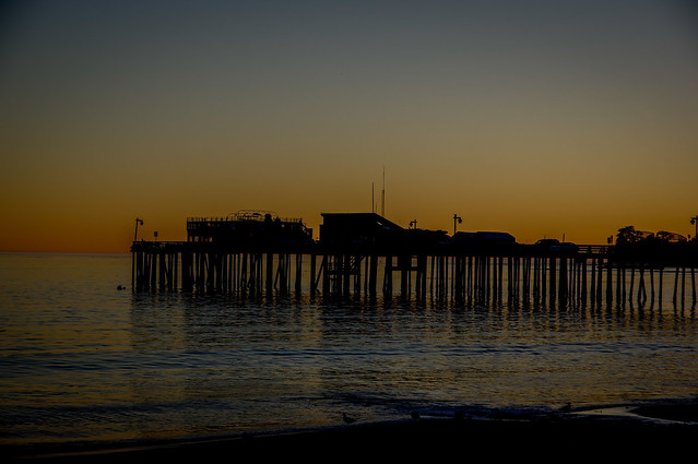 Evening by the Pier — California