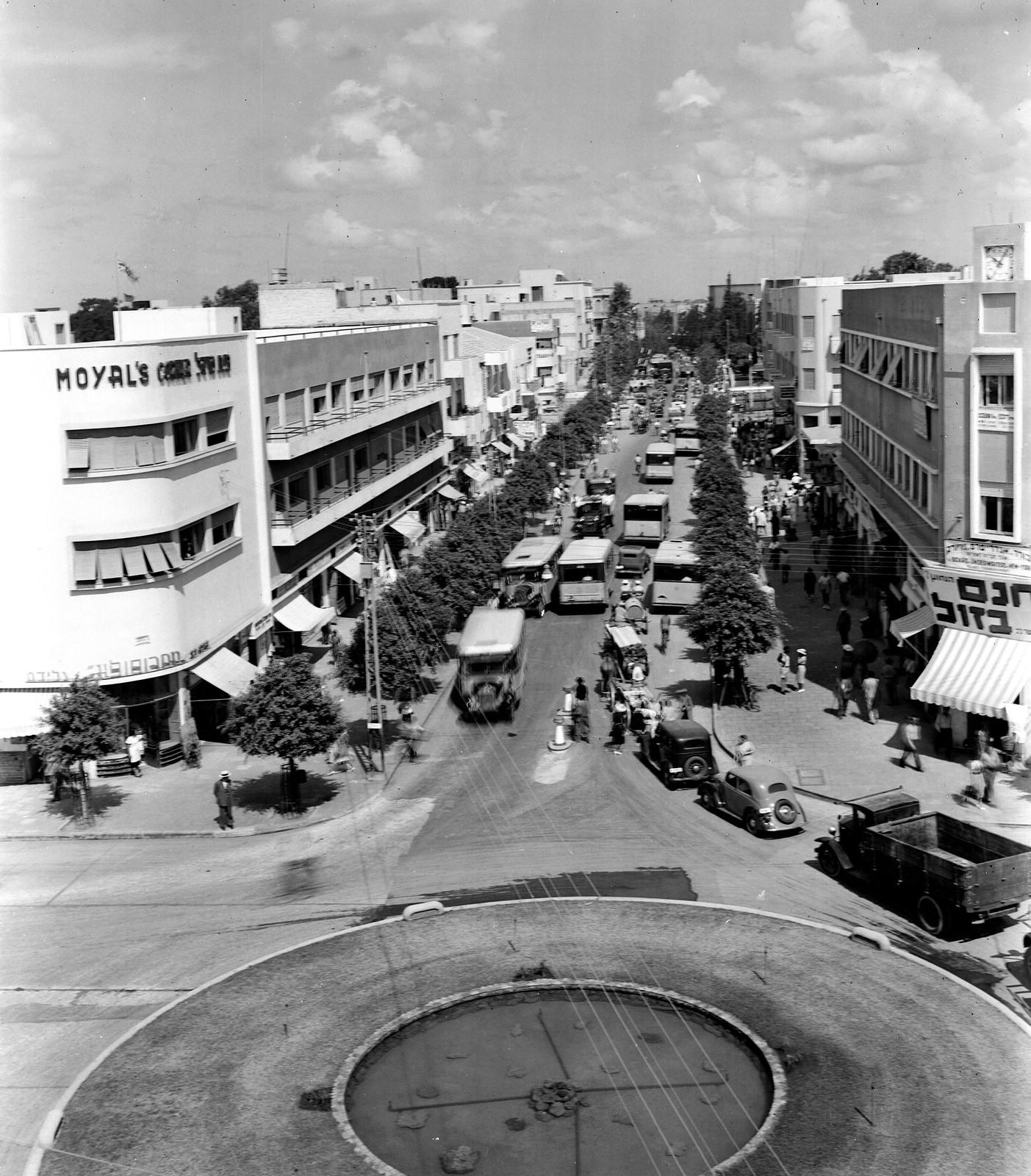 13. 1938. Улица Алленби