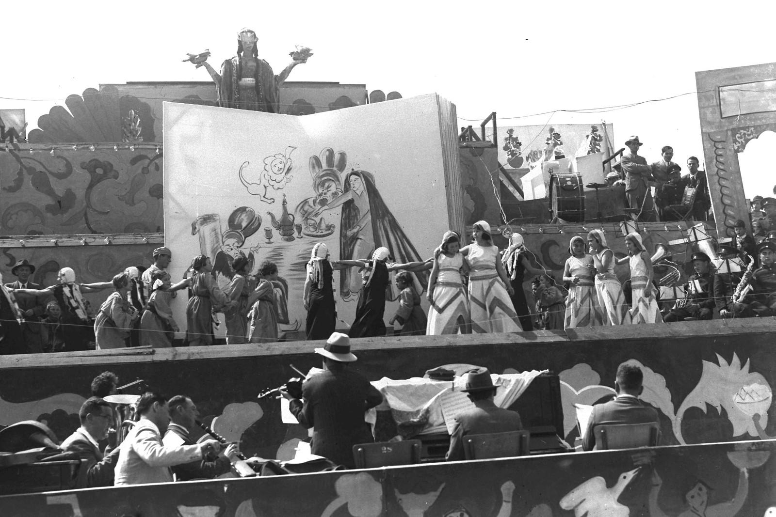 06. 1935. Пурим в Тель-Авиве