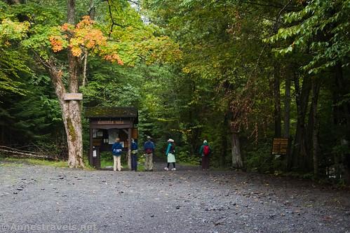 The Indian Pass Trailhead, High Peaks Wilderness, Adirondack Park, New York