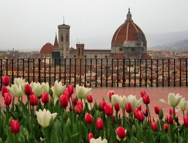 Springtime in Florence.