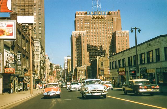 Found Kodachrome Slide -- Milwaukee, 1958