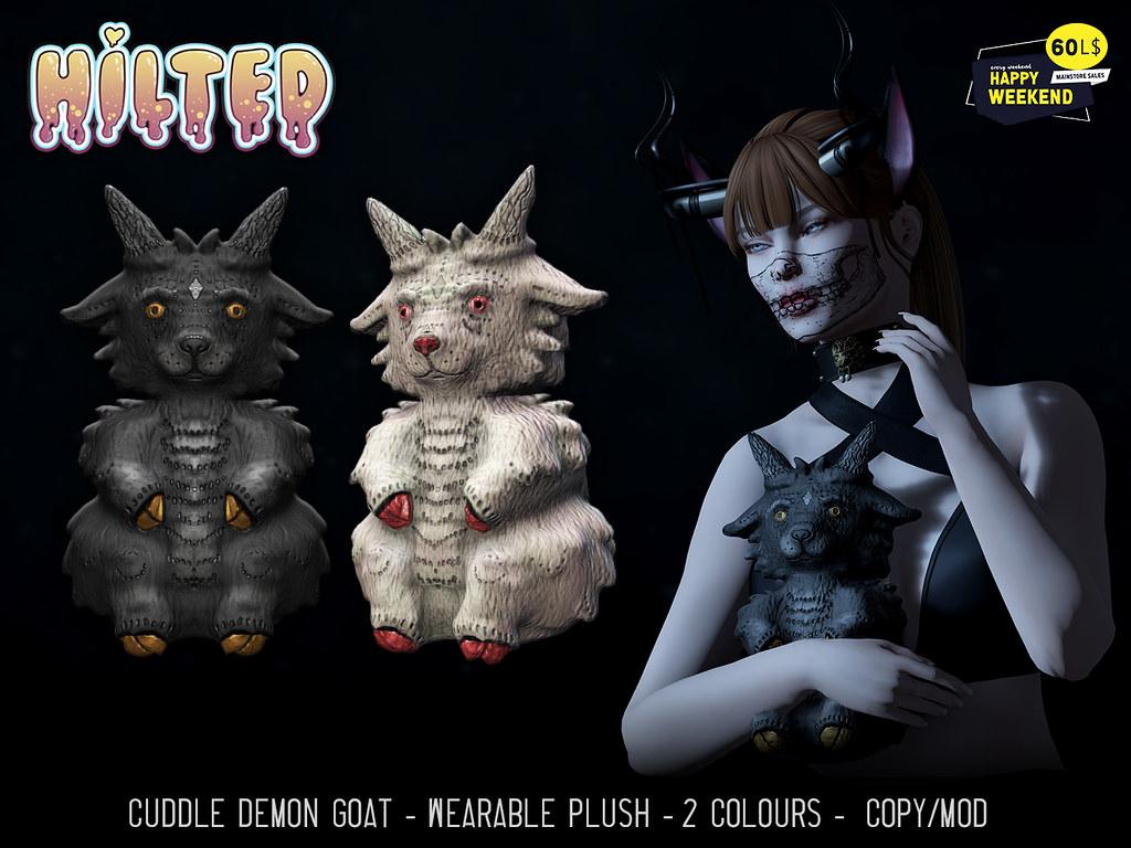 HILTED – Cuddle Demon Goat