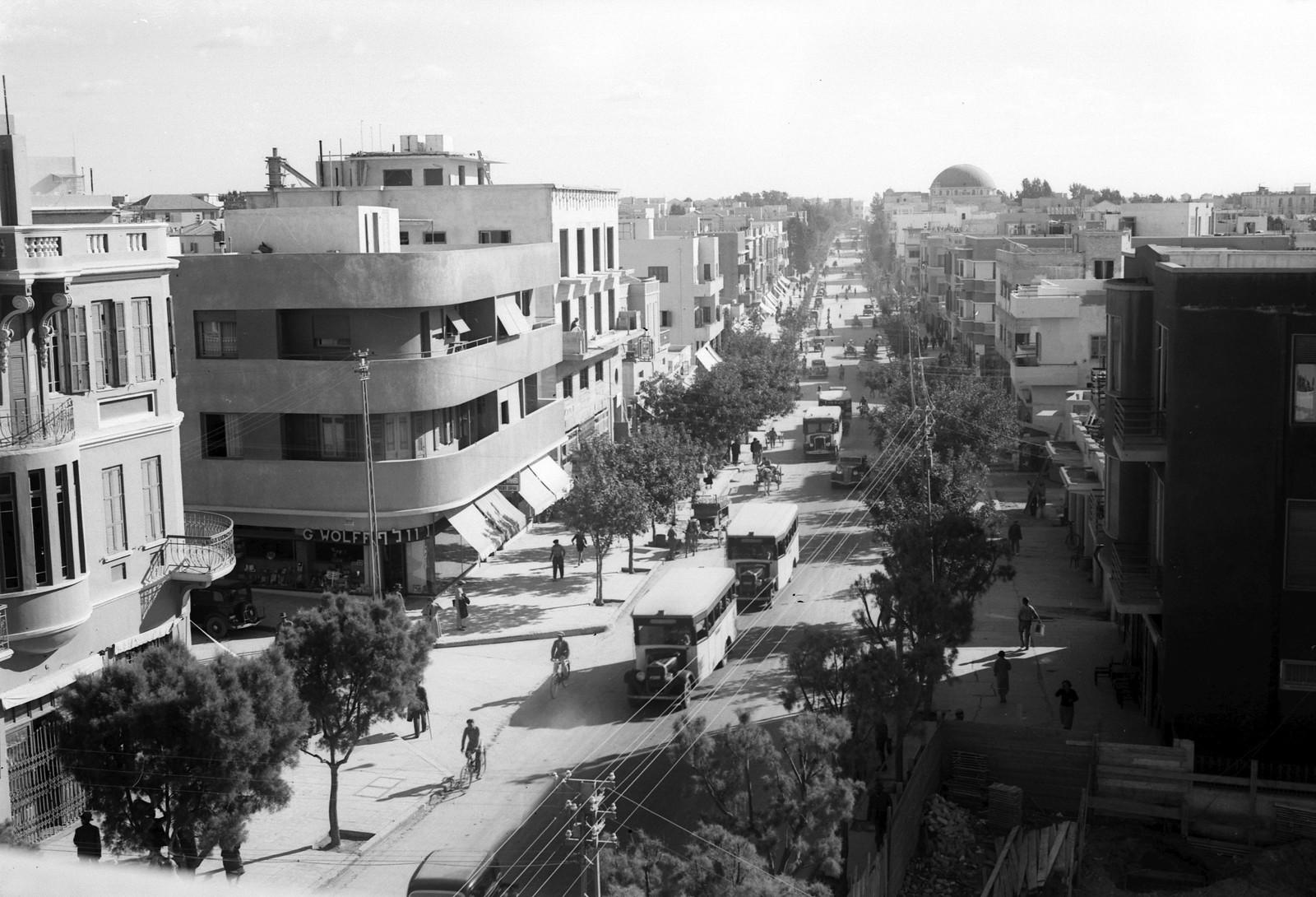 04. 1934. Улица Алленби