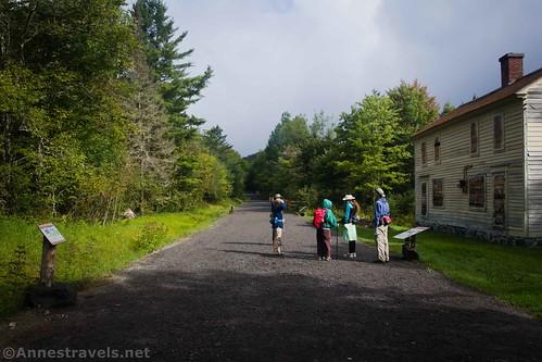 The Upper Works Trailhead, Adirondack State Park, High Peaks Wilderness, New York