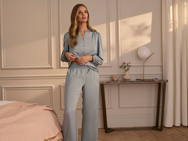 Rosie Exclusively for M&S Autumn lingerie collection