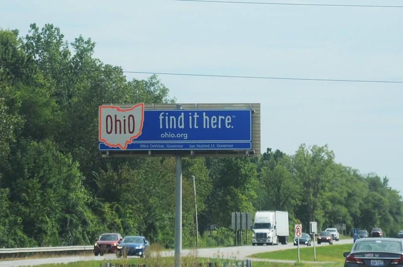US 23 Ohio Welcome Sign
