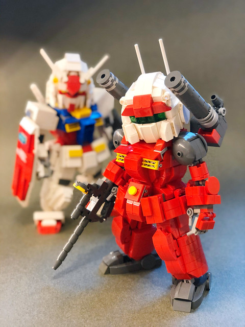 [LEGO] Gundam Project V - 2 done, 1 to go! RX-77-2 and RX-78-2
