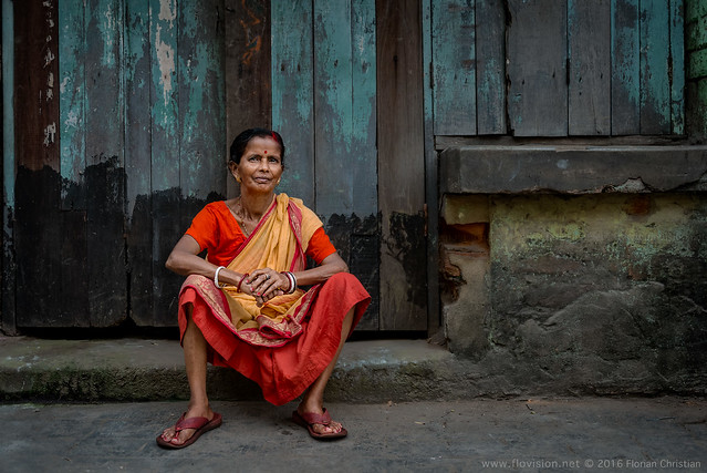 colourful India. Kumartuli, Kolkata