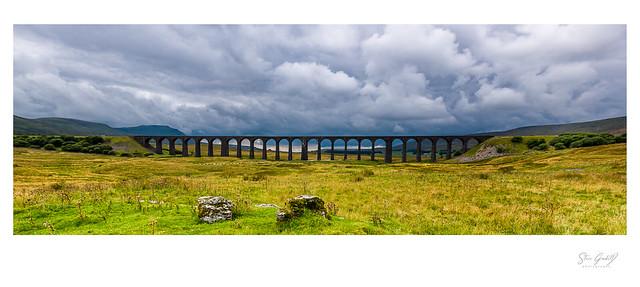 Ribbelhead Viaduct.