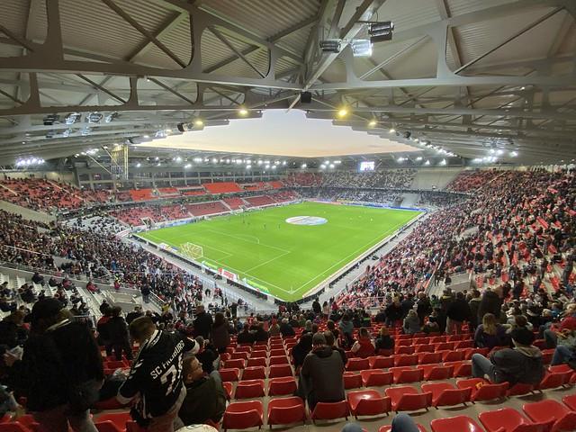 Eröffnung Stadion des SC Freiburg