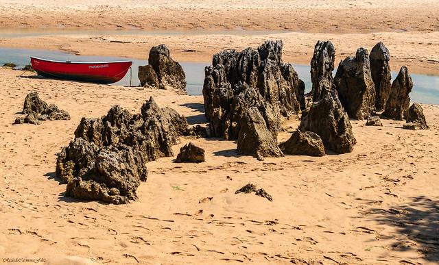 Low tide   -   Marea baja