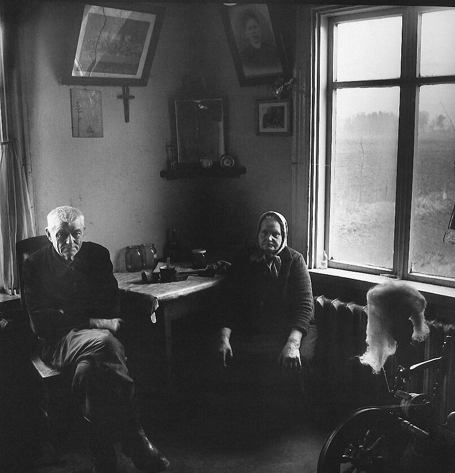 1969. Мои бабушка и дедушка. Клуонишкес