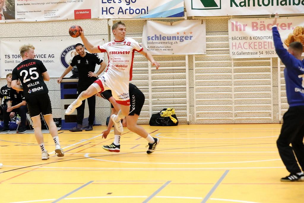 Mobiliar Handball Cup HC Arbon  1. Liga – SG Wädenswil-Horgen (NLB)_32