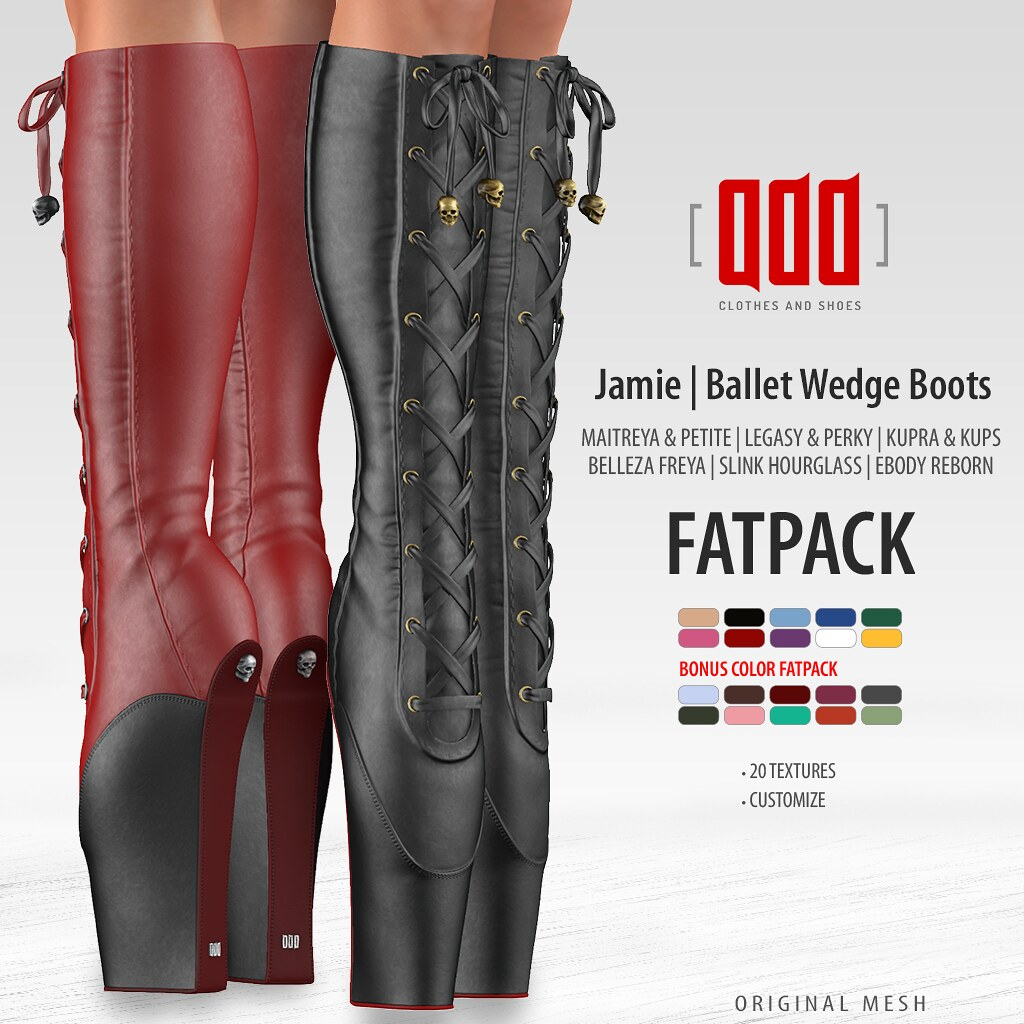 New release – [ADD] Jamie Boots