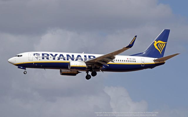 9H-QAG LMML 07-10-2021 Ryanair (Malta Air) Ryanair (Malta Air) CN 44815
