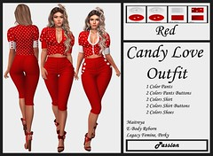 Passion-Candy Love-Outfit-Red