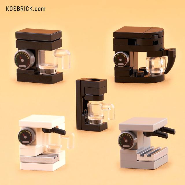 Lego Coffee Maker (Instruction Tutorial)