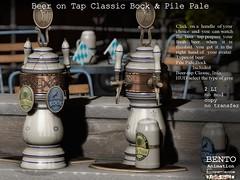 Classic Beer X2 Bock & Pile Pale