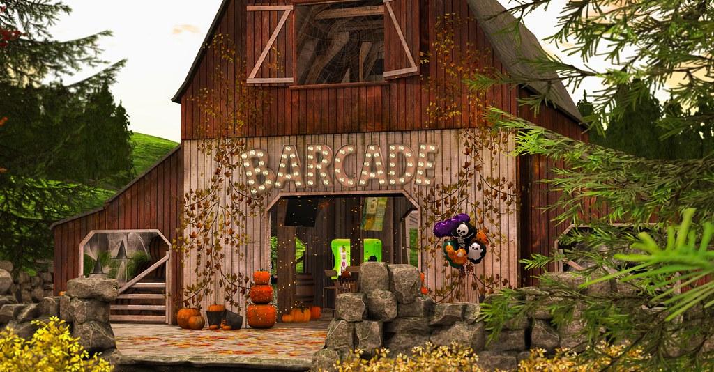 Fall-O-Ween Barcade!