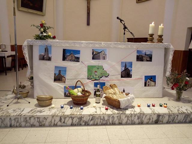 20211010 Installation du père BIENVENU curé du HAUT-CHAMPSAUR