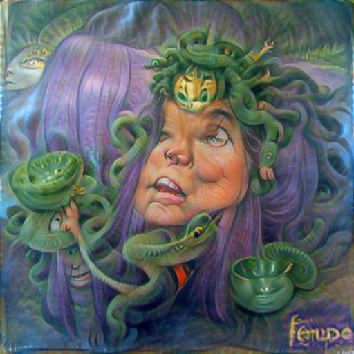 'Medusa' PyramidVisions Text-to-Image